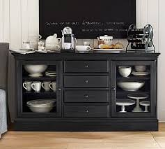 Black Buffet Server by Sideboards U0026 Buffet Tables Pottery Barn