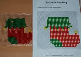 hama bead christmas tree decorations ofamily learning together