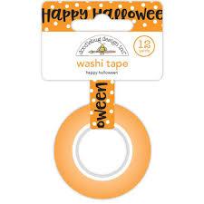 halloween tape doodlebug happy halloween washi tape 842715057418