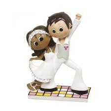 figurine mariage mixte figurine gateau mariage mixte