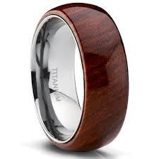 mens wedding bands wood inlay cheap koa wood inlay ring find koa wood inlay ring deals on line