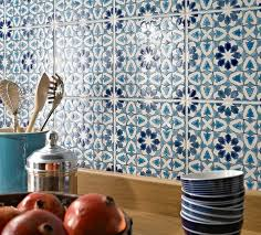 moroccan tiles kitchen backsplash moroccan tile backsplash ideas blue white ceramic tiles kitchen