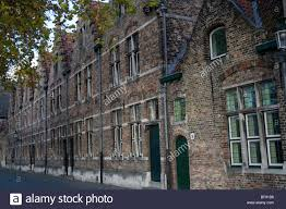gothic style homes row of terraced gothic style houses on potterierei bruges belgium