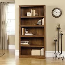 Sauder Bedroom Furniture Sauder 410367 Sauder Oiled Oak 5 Shelf Bookcase