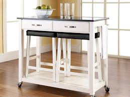 kitchen carts kitchen island crate and barrel light wood cart