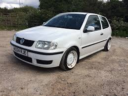 modified volkswagen polo modified vw polo 1 4e long mot lowered deep dish alloys wheels