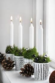 White Christmas Decor Pics by Best 25 Christmas Interiors Ideas On Pinterest Scandinavian