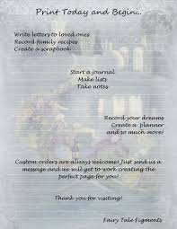 fairy writing paper 12 dancing princesses fairy tale stationery brothers grimm this is a digital file