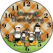 thanksgiving clock clock faces and clocks clocks