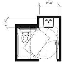 entrancing 90 ada bathroom door swing out design decoration of 22