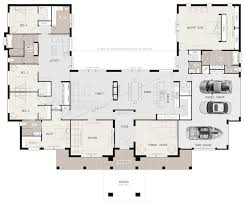 Ushaped  Bedroom Family Home Floor Plans Pinterest - 5 bedroom house floor plans