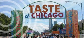 taste of chicago map taste of chicago parking 5 top locations parking map