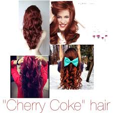 coke in curly hair cherry coke hair color brown with a hint on bright red s