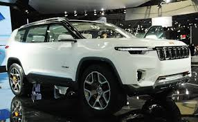 jeep jeep finds green groove with 7 seat plug in hybrid suv concept