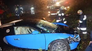 bugatti crash bugatti veyron driver loses control flies off the highway
