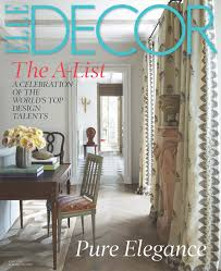 Home Decor Blogs Usa June 2015 Elle Decor Cover Anthony Lawrence Blog