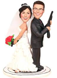 custom wedding toppers custom wedding cake topper toppers with guns south africa peukle