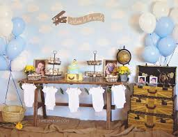 travel themed baby shower travel world countries party ideas for a baby shower catch my party