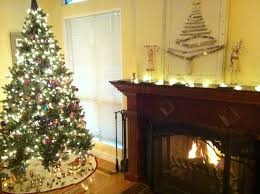 elegant christmas tree in living room 52 upon small home