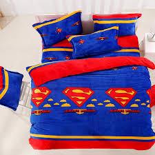 justice league flannel bedding sets adults duvet cover set bed