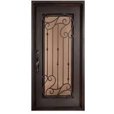 double door iron doors front doors the home depot