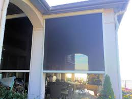 Motorized Screens For Patios Retractable Solar Screens For New Construction Houses Dallas New