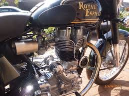 royal enfield bullet 350 2007 5 000 miles new mot with enfield