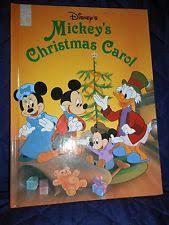 classics mickey u0027s christmas carol 1995 hardcover ebay