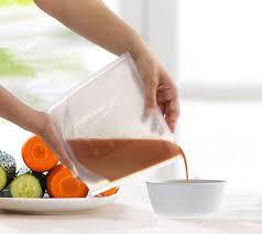 silicone cuisine reusable silicone food bag mojogift
