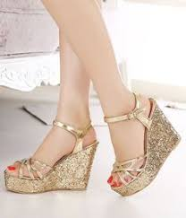 gold wedge shoes for wedding wedge wedding shoes on bridal shoes wedges wedding