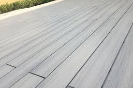 supremo wpc composite decking boards silver grey 22mm by 142mm by