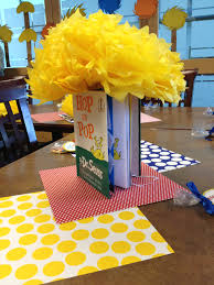 dr seuss centerpieces dr suess book centerpiece projects to try dr