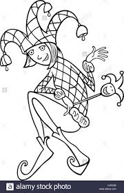 woman illustration funny fool jester joker cartoon chump