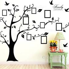 family tree picture frame wall decor personalized family picture