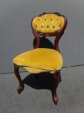 French Yellow Chair French Provincial Chair Ebay
