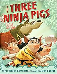 ninja pigs corey rosen schwartz santat