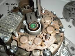 toyota 4runner alternator problems alternator brush kit ic regulator diode removal toyota 4runner