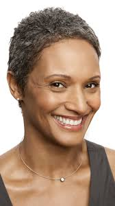 how to wear short natural gray hair for black women 15 gorgeous gray hairstyles for women of all ages grey hairstyle