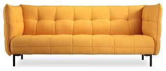 hepburn contemporary modern twill loft sofa sofas by kardiel