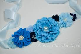 blue maternity sash baby shower sash its a boy sash maternity