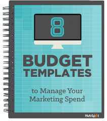 free download 8 budget templates to manage your marketing spend