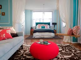 Blue Color Living Room Designs - teenage bedroom color schemes pictures options u0026 ideas hgtv