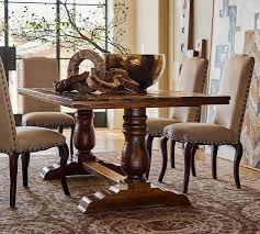 pottery barn dining room table lovely on dining room tables and