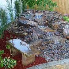 Flowers For Backyard by Pondless Waterfalls For Backyards With Flowers Pondless
