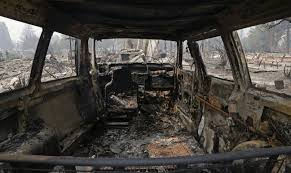 California Wildfires Burn Cars by California Videos At Abc News Video Archive At Abcnews Com