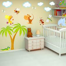 stickers animaux chambre bébé chambre bb animaux stickers chambre bb et enfant ides adorables