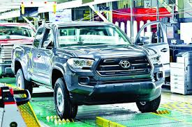 toyota trucks toyota pickup plant feels the squeeze