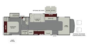 coachmen leprechaun 319mb ford gas class c motorhome floor plan