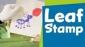 how to make a leaf stamp superhands easy crafts diy craft