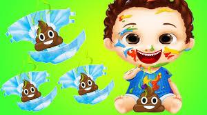 fun baby care kids games diaper change bath dress up feed